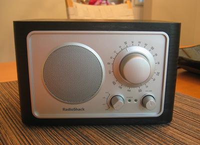 RadioShack RS-21 Hi-Fidelity Tabletop AM/FM Radio