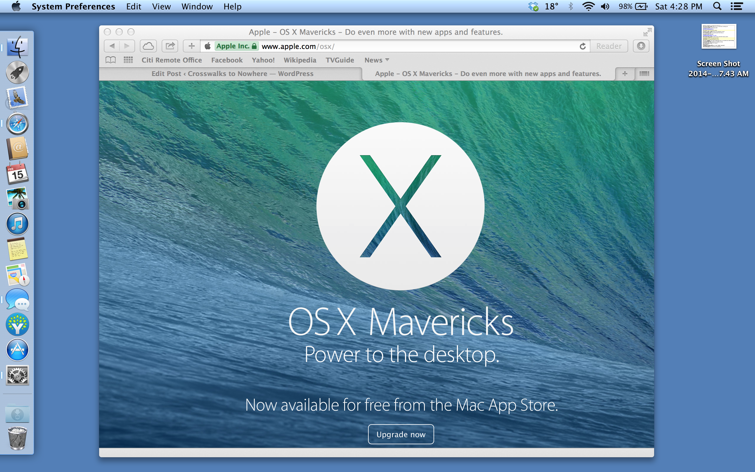 OSX Mavericks Rebuild Guide