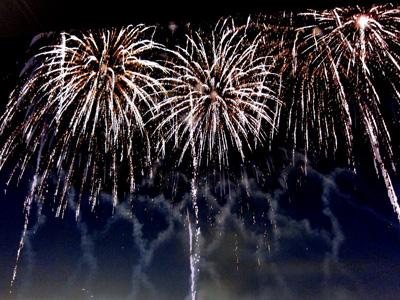 Fireworks at Arlington Park