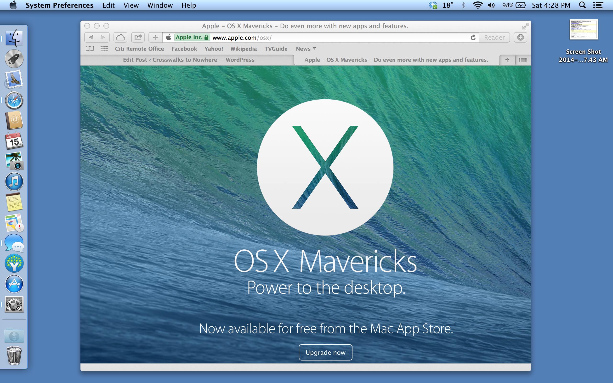 OSX Mavericks Rebuild Guide
